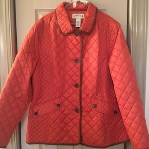 Orvis quilted winter coat